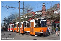 Tram Berlin - 2018-02 (olherfoto) Tags: tram tramcar strasenbahn berlin dvn tatra kt4d