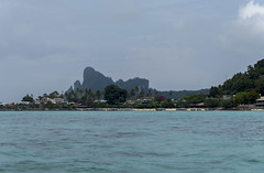 thailand (Greg Rohan) Tags: clouds sky blue palmtrees boats boat houses trees tree mountain ocean sea water thailand asia d7200 2017 nikon nikkor bay coast beach