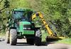 N529 CEV (Nivek.Old.Gold) Tags: 1996 john deere 6600 4wd tractor mower jpplant gamlingay