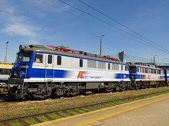 EU07-331, PKP IC (transport131) Tags: pociąg train pkp eu07 ic kraków płaszów