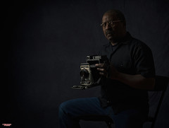 The Photographer Color Version (MBates Foto) Tags: camera color crowngraphic indoors male man nikkorlens nikon nikond810 nikonfx people photographer portrait studio spokane wasshington unitedstates 99203 self