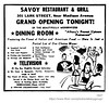 1947 savoy restaurants & grill (albany group archive) Tags: albany ny history 1947 savoy restaurants grill justin mcneil lark street 301 1940s old vintage photograph photo picture historic historical