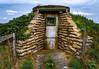 Pickett Hamilton Fort (aquanout) Tags: pilbox wwii turret war worldwar2 green sky
