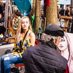 Le portraitiste et son modèle (Daniel_Hache) Tags: paris îledefrance france fr