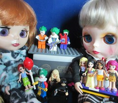 BaD 20 April 2018: Joker's Wild (Full House) (jefalump) Tags: fauxblythe lego friends minifigure minifig joker toy mini doll