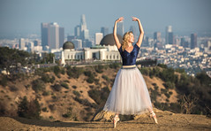 Pretty Ballerina Dancing Ballet Griffth Observatory Los Angeles City Skyline! Nikon D810 70-200mm VR2 F2.8! Fine Art Classical Ballet in Pointe Shoes Slippers Leotard Tutu Photography! High Res LA Model Portraits of Professional Ballerina! Jette Jump! (45SURF Hero's Odyssey Mythology Landscapes & Godde) Tags: pretty ballerina dancing ballet griffth observatory los angeles city skyline nikon d810 70200mm vr2 f28 fine art classical pointe shoes slippers leotard tutu photography high res la model portraits professional jette jump
