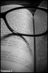 lecture (Fotomaniak 53) Tags: livre lunettes lecture détente monochrome