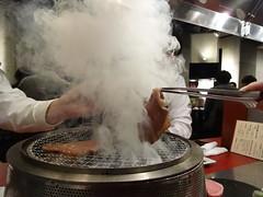 Smokin' @Seitaien, Daimon, Tokyo (Phreddie) Tags: yakiniku wagyubeef meatclub yummy delicious foos japanesefood kroean party happy friends tokyo japan restaurant monday reunion