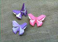 Origami butterfly by Michael G LaFosse (polelena24) Tags: origami square butterfly