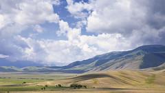 There we go (monorail_kz) Tags: almatyregion kazakhstan centralasia alatau tekes summer 2018 july river mountains mountainside landscape highlands kegen valley sky clouds midday
