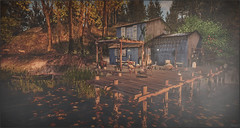 *There is peace in the swamp* ❤️ (Ⓐⓝⓖⓔⓛ (Angeleyes Roxley)) Tags: sweetwater bay vitas gardens outdoors nature landscaping sl secondlife