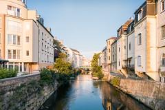 Golden Hour (Michael Dittrich) Tags: cityscape austria badenbeiwien schwechatfluss goldenhour smartphone smartphonephotography nexus5x river
