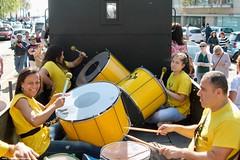 Batucada Radical (ernstkers) Tags: 58 batucadaradical porto portugal stcp zorra eléctrico strasenbahn spårvagn percussion percussionband music musician