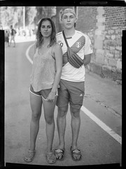 _MG_3129-Modifier-Modifier (ithier.held) Tags: ilford hp5 linhof technika 9x12 large format festival portrait esperenzah