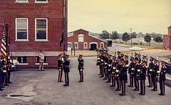 1962-1963-Gary Rogers-Charlie Company-1st Battle Group-04 (Old Guard History) Tags: 1962 1963 1stbattlegroup companyc fortmyer bluescarf khaki uniform