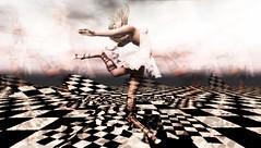 HOOFER (tralala.loordes) Tags: tralalaloordes secondlife sl virtualreality vr lindenlabs ll tralala dancer hoofer tapdancer ballet tutu argrace kohaku unscrupulouswindydress lab737 faunlegs movement dream music prelude surreal unusual blond avatar photoshop