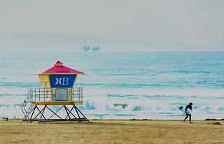 Life Guard Hut - Huntington Beach
