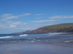 Changing Sea, Sandwood Beach, North West Sutherland, July 2018 (allanmaciver) Tags: changing sea current strong waves north coast west sutherland scotland cape wrath sandwood beach water weather watch decision allanmaciver swirl