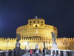 聖天使城堡 Castel Sant'Angelo   Roma, Italy (sonic010739) Tags: olympus omd em5markii olympusmzdigital1240mm roma italy