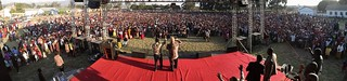 Crowd at Mbeya Festival