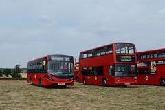 Sullivan Buses AE21 (SB66SUL) and TPL927 (EY03FNL) (hassaanhc) Tags: plaxton plaxtonpresident alexander dennis adl enviro enviro200 e200 enviro200mmc e200mmc