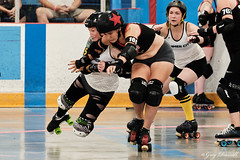 20180721_ToRD_209 (tallone6ft5us) Tags: xpro2 tord torontorollerderby rollerderby derby tedreevearena vipers hammercity toronto on canada can