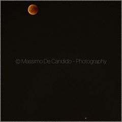 "Total eclipse of the Moon and Planet Mars - 27 July 2018 (""Max Deca"") Tags: moon eclipse sky astronomy background summer night photography rareevent place planet space discovery legend varese east south horizon mars italia"