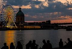 Toulouse - sunset by the Garonne_ (jara311) Tags: coucherdesoleil soleil garonne fleuve rivière ombres granderoue toulouse