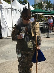 Groot's Mom - 7-21-2018 (kimstrezz) Tags: 2018 groot guardiansofthegalaxy costume cosplay sdcc sdcc2018 comicon comicon2018 sandiego