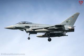 German Air Force Eurofighter EF-2000 Typhoon