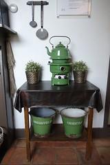 Windmill Kitchen (I like green) Tags: vikingrhinecruise2017 holland netherlands kinderdijk windmill interior kitchen