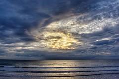 Stormy (Nige H (Thanks for 15m views)) Tags: nature landscape sky sea seascape waves storm stormy clouds cloud devon england sunset sundown ocean