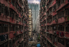 Urban jungle, Hong Kong (reinaroundtheglobe) Tags: hongkong kowloon china asia architecture buildings reside urban urbanjungle perspective