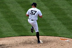 CHAD GREEN (MIKECNY) Tags: pitch pitcher baseball pinstripes yankees newyork chadgreen
