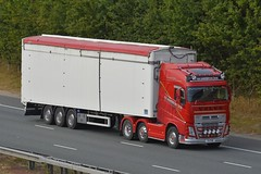 V4 PHW (panmanstan) Tags: volvo fh wagon truck lorry commercial walkingfloor freight transport haulage vehicle a1m fairburn yorkshire