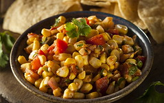 Homemade Spicy Corn Salsa (ObserverXtra) Tags: cornsalsa salsa corn food mexican appetizer snack pepper fresh tomato red spicy vegetarian delicious healthy sauce onion yellow hot salty dip tortilla gourmet tasty chip parsley vegetable vegetables chips avocado raw jalapeno observer aug022018