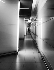 It's 5 to 6 | Budapest | Hungary (max tuguese) Tags: black white blanc noir noiretblanc bianco nero schwarz weis urban airport budapest monochrome maxtuguese canon light lights shadow view architecture