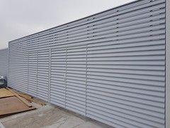 Louvred Plant Screen (Nationwide Louvre Company Ltd) Tags: louvredplantscreen screeninglouvres louvrescreening louvredscreening louvre louvers shading weatherlouvres