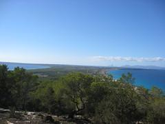 Imatges de Formentera. Eivissa al fons (montsealmar) Tags: viatges formentera