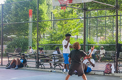 1358_0271FL (davidben33) Tags: brooklyn ny crown height summer 2018 park sport basketball people children 718 plaj joi trees bushes sporting field