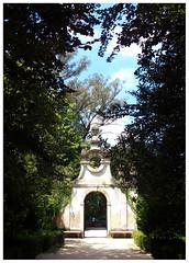 Portal (Gurugo) Tags: coimbra portugal jardimbotânico botanicalgarden universidadedecoimbra coimbrauniversity portal portão jardim garden árvores trees path caminho