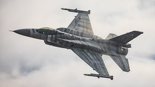 F-16 Tiger Demo Team Poland