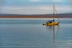 Salt Life (TheExplorographer.com) Tags: lakechamplain art bay beach boat island lagoon print sailboat saltlife shore sunset vermont water