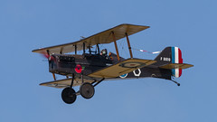 Bremont Great War Display Team (DaveGray) Tags: riat2018 canoneos70d bremontgreatwardisplayteam aircraft airplane replica 78 biplane royalaircraftfactoryse5a flying flight airshow airshows sky