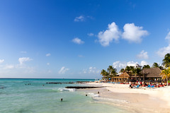 Beach of Isla Mujeres, Mexico