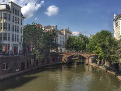 Oude Gracht (sander_sloots) Tags: oude gracht utrecht canal city water buildings trees bomen binnenstad bridge brug