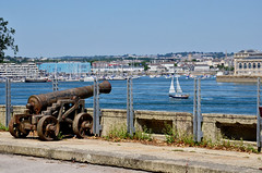 River Tamar at Stonehouse, Plymouth (Baz Richardson (away until early October)) Tags: rivertamar hamoaze stonehouse plymouth yachts devon oldcannons