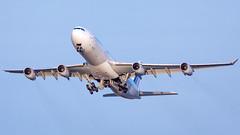 MSP F-GLZU (Moments In Flight) Tags: minneapolisstpaulinternationalairport msp kmsp mspairport aviation avgeek airliner airbus takeoff airfrance afr673 mspcdg a340 a340313