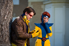 SP_61095 (Patcave) Tags: xmen jeangrey jean grey scottsummers scott summers phoenix cyclops comic book comicbook movie tv superheroes superhero superheroine 2017 atlanta georgia cosplay shoot model cosplayers costume costumers sigma 85mm f14 canon 5d3 1740mm f4 lens