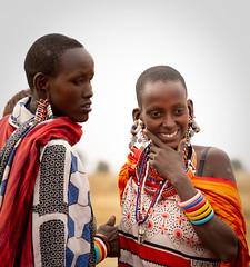 Maasai Mothers (Darren Berg) Tags: maasai masai mom mother portrait kenya tribe beads colorful